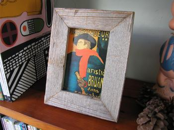Moulded Barn Wood Frame (Postcard)