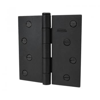530-09 #510 Black Butt Hinge 4inch Flush