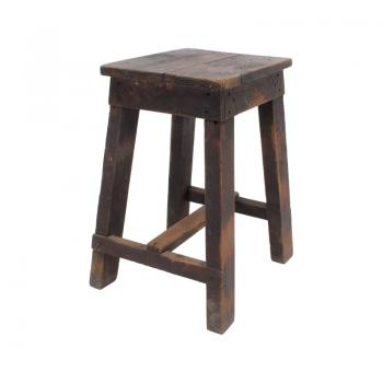 Antique Factory Stool