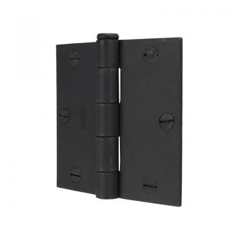 530-88 #509 Black Butt Hinge 3.5inch Flush