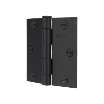 530-85 #508 Black Butt Hinge 3inch Flush