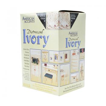 American Accents Distressed Finishes Ivory Kit