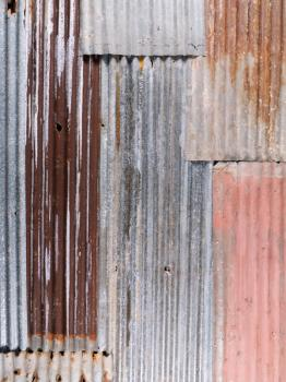 Corrugated Iron Panel 800×2100