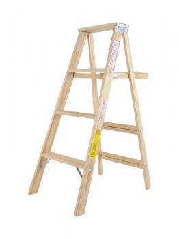 Wood Stepladder Commercial Duty 4ft