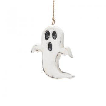 Wood Carving Ghost Halloween