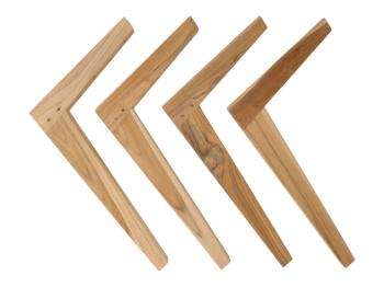 Teak Low Table Legs