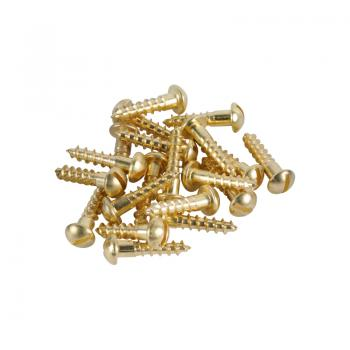 Brass Screws Round Head #8 x 3/4inch
