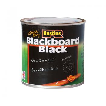 Rustins Blackboard Black 250ml