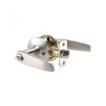 Satin Stainless Privacy Lever