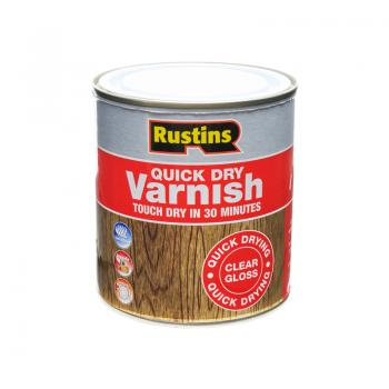 Rustins Quick Dry Clear Varnish 500ml