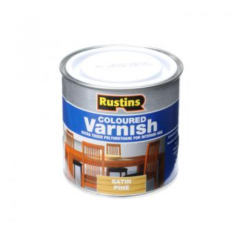 Rustins Polyurethane Coloured Varnish Satin 250ml