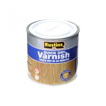 Rustins Quick Dry Coloured Varnish Satin 250ml