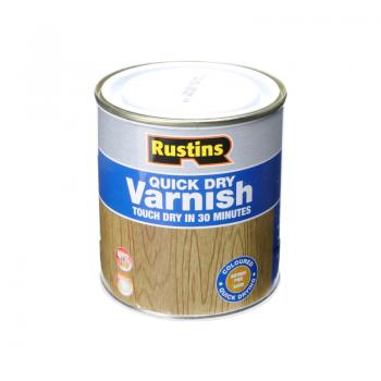 Rustins Quick Dry Coloured Varnish Satin 500ml