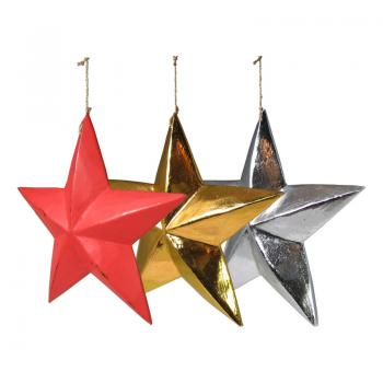 Wood Carving Star L
