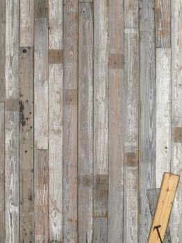 Split Board 【White,Gray,Shabby Mix】 1x6
