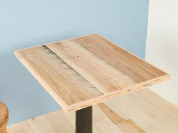 J.B. Oak Table Top (600×500) Unfinish