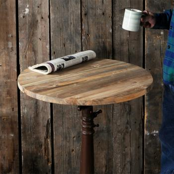 Reclaimed Teak Table Top Round (φ600)