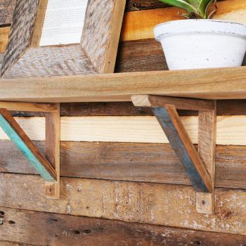 Reclaimed Teak Simple Bracket
