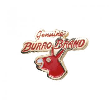 Burro Logo Pin Badge