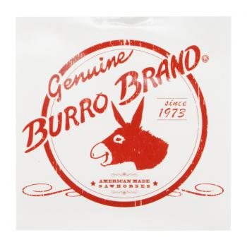 Burro Logo Sticker #2 (Red Yoke)