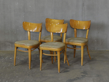 Mid Century European Bentwood Chair (1812)