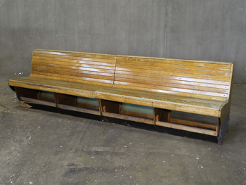 Bowling Alley Bench (1812)