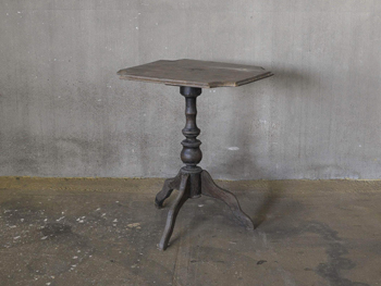 Anttique Pedestal Side Table #4 (1901)