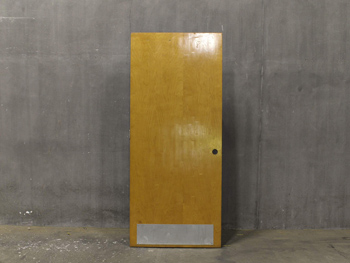 Antique Heavy Maple Door (1812) #004