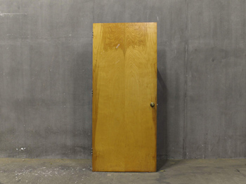 Antique Heavy Maple Door (1812) #009