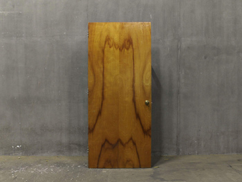 Antique Heavy Maple Door (1812) #010
