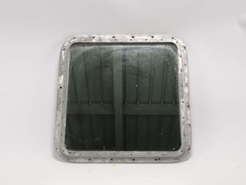 Antique Ship Window with Mirror Square (M) (1610) #09