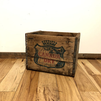 Wooden Box - CANADA DRY (2002) #001