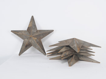 Small Barnwood Stars #Natural (1603)