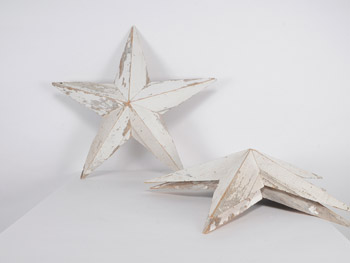 Large Barnwood Stars #Natural (1603)