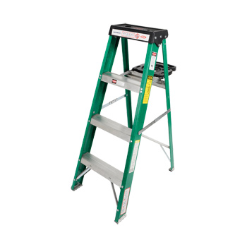 Fiberglass Stepladder Commercial Duty 4ft