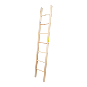 Wood Single Ladder Heavy Duty 8ft