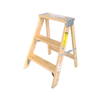 Wood Stepladder Commercial Duty 2ft